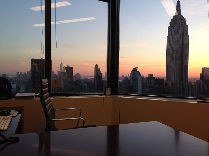 The Office - View of NYC Skyline