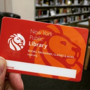 New York Public Library Card