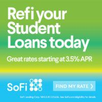 Get $300 cash back from SoFi through this link