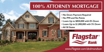 Did you know that simply having a JD qualifies you for a mortgage with less than 20% down and no PMI?.